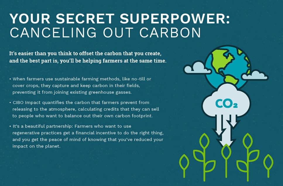 Your secret superpower: canceling out carbon