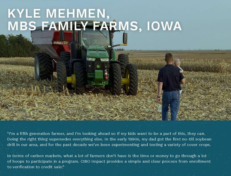 Kyle Mehmen, MBS Family Farms, Iowa