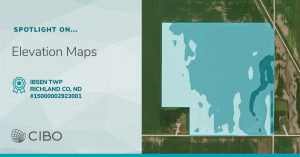LI Maps ND Elevation