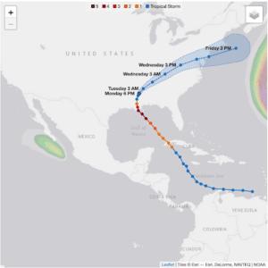 Figure 3 Hurrican Ida