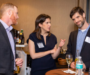 Industry connections were made at the networking event hosted by CiBO Technologies and Scientific American Custom Media.